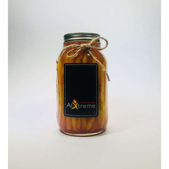 Alxtreme spicy beans jar